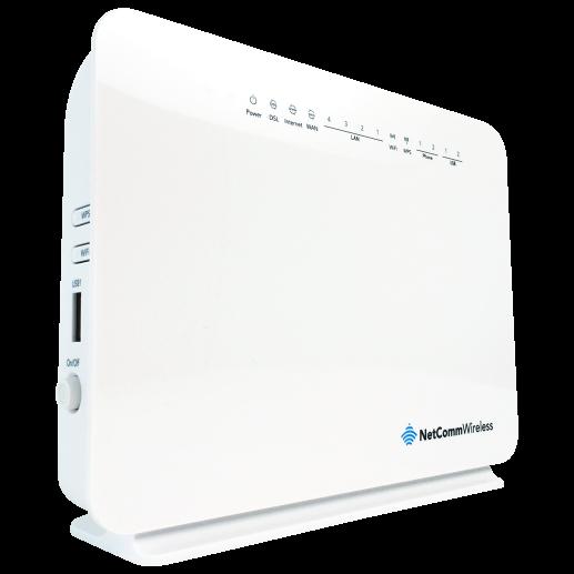 netcomm nf10wv nbn ready wifi voip adsl  vdsl wireless